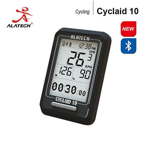 *╯新風尚潮流╭*傳揚 ALATECH 藍芽自行車錶 藍牙4.0 IPX7防水等級 運動記錄 Cyclaid10
