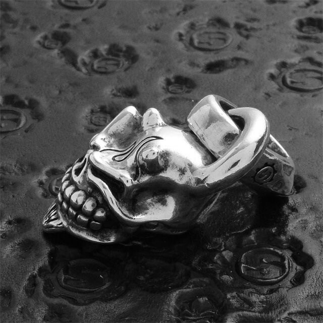 【現貨商品】【STARLINGEAR】日本鬼面般若骷髏墜飾 (STP004Devil  0123610000) 5