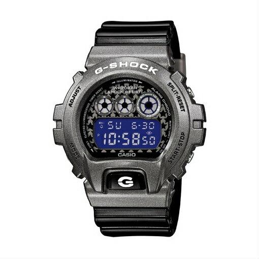 CASIO G-SHOCK DW-6900SC-8DR太空灰數位流行腕錶/50mm
