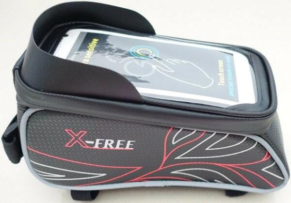 《意生》防水X-FREE 020遮光上管包 腳踏車上管馬鞍包 小馬鞍手機袋手機座自行車包手機包置物袋馬鞍袋