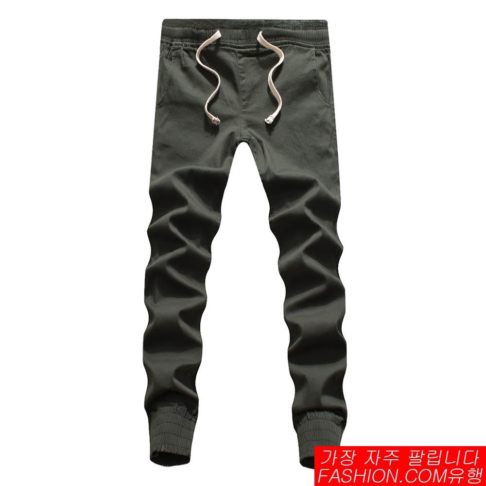 DITION 超彈力經典縮口褲 抽繩工作褲 1