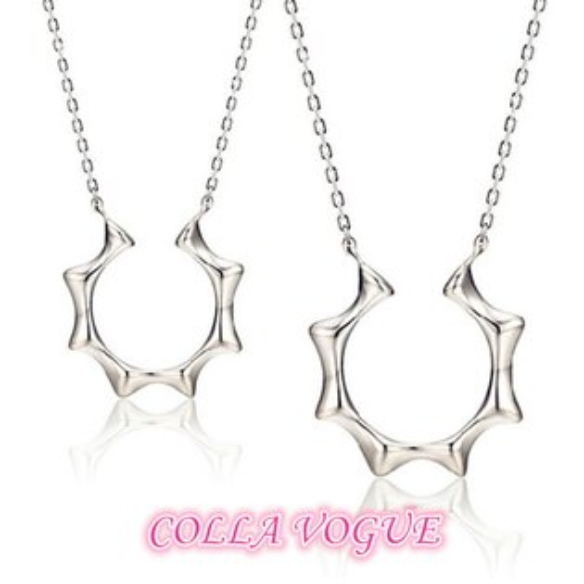 ✻蔻拉時尚✻ [CV1091] COLLA_愛的永恆 主君的太陽同款 情侶925純銀項鍊對組(兩件一套價) 抗過敏