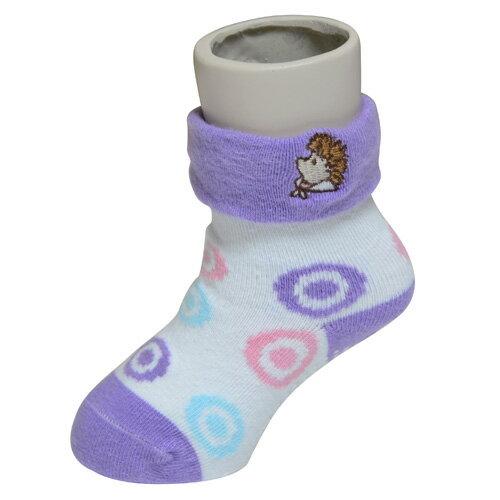 『121婦嬰用品館』狐狸村 威利繡花短筒襪 (9-11cm) 2
