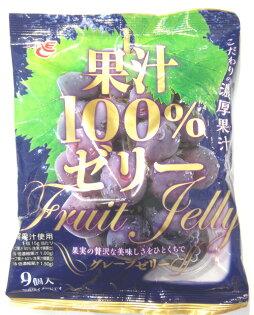 ACE Bakery 100%濃厚葡萄果汁果凍9入(135g)