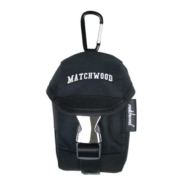 REMATCH - Matchwood Flash 手機腰包 全黑款 掛腰包 手機包 手機袋 附掛勾 Herschel / Supreme / HEADPORTER 可參考