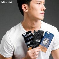 【Star Wars 】iPhone 6 Plus/6s Plus 星際大戰 高質感皮革壓紋背蓋保護殼-紳士款