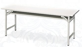 白面板折合會議桌 45 x 120 公分 2013-B-67-1