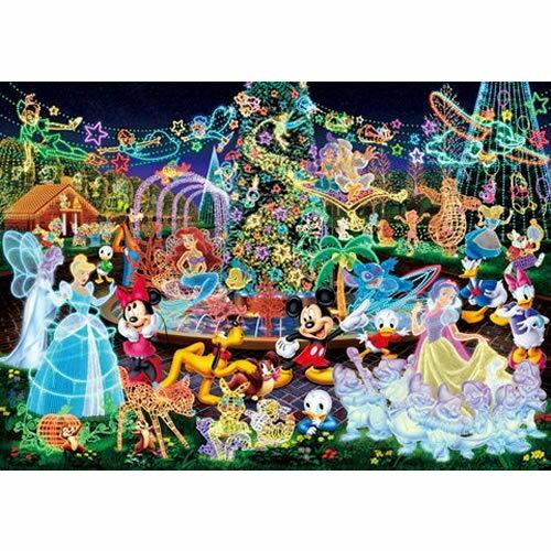 【進口拼圖】迪士尼 DISNEY-花車遊行之水晶燈舞會 1000 pcs ( SN : 4905823944493 ) DW-1000-449