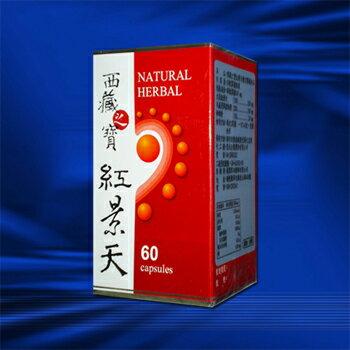 西藏之寶紅景天複方膠囊食品【60顆裝】*1罐《買六送一》