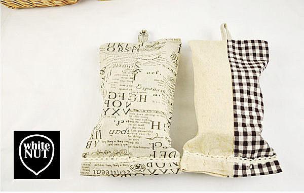日式風格掛式麻布面紙套 麻布&印花 麻布&拼布 2款任選