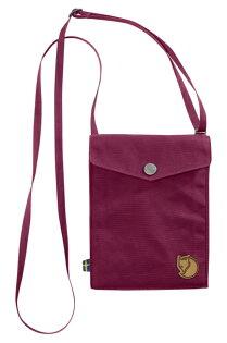 【鄉野情戶外專業】 Fjallraven |瑞典|  Fjällräven Pocket 旅行隨身袋 護照包 側肩包《紫紅色》 _24221