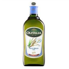 Olitalia奧利塔~玄米油1000ml/瓶 ×2罐送特級冷壓橄欖油250ml/罐~限量特惠中~