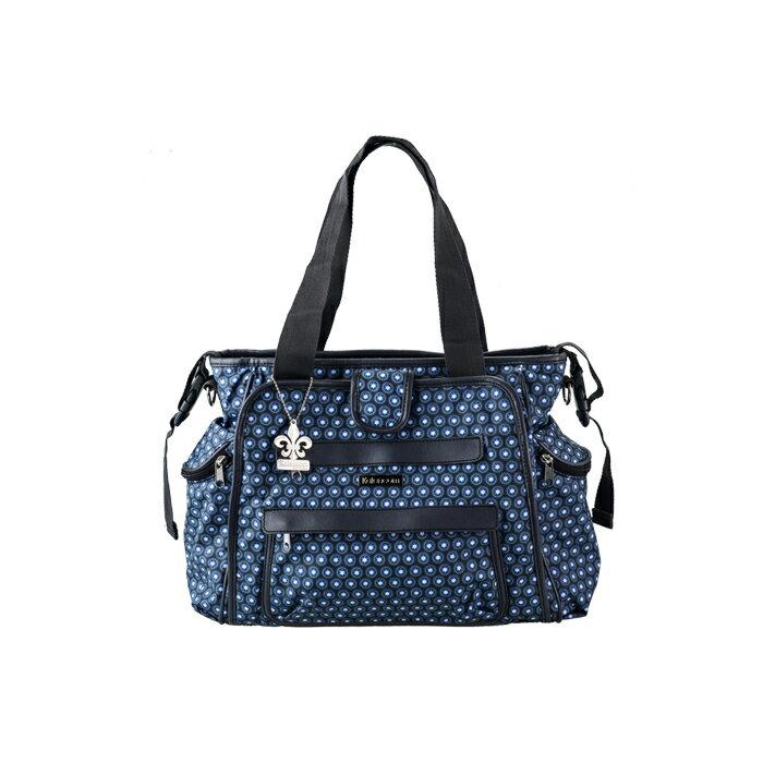 Kalencom - 時尚媽媽包 托特系列 點點藍 - 限時優惠好康折扣