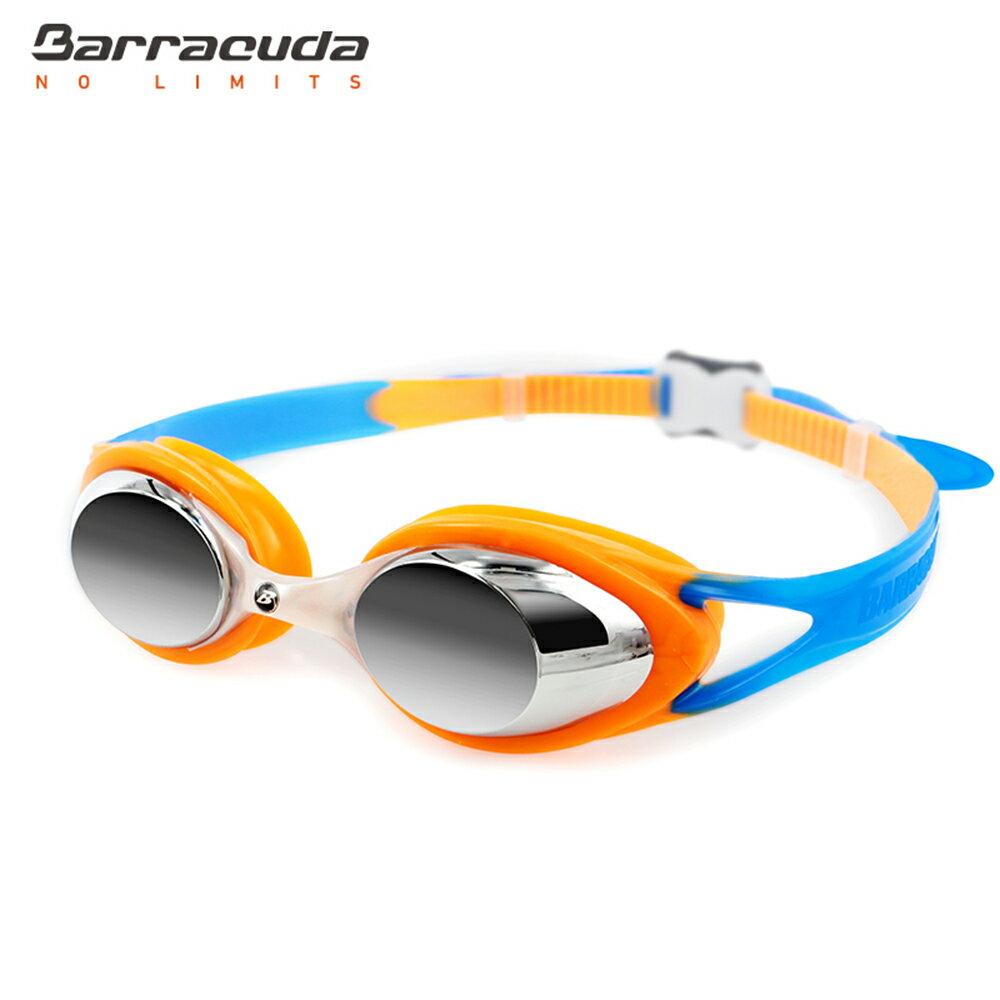 美國巴洛酷達Barracuda兒童抗UV電鍍泳鏡-CARNAVAL#34710 4