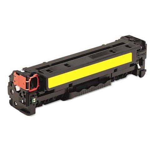 【非印不可】HP CE322A 黃色 (單支) 相容環保碳匣 適用CP1525nw/CM1415fn/CM1415fnw