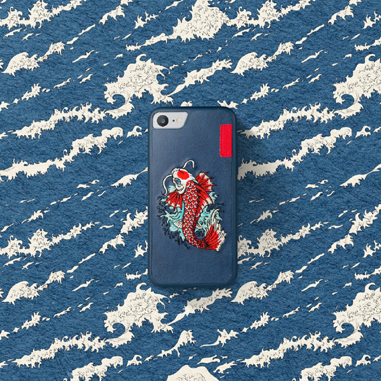 [預購]Skinarma IREZUMI iPhone 7 刺繡背蓋 1