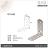【 EASYCAN  】D15 不鏽鋼 角碼 1包10片 易利裝生活五金 角鐵 轉角片 補強 房間 臥房 客廳 餐廳 櫥櫃 衣櫃 小資族 辦公家具 系統家具 2