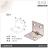【 EASYCAN  】D21 不鏽鋼 角碼 1包10片 易利裝生活五金 角鐵 轉角片 補強 房間 臥房 客廳 餐廳 櫥櫃 衣櫃 小資族 辦公家具 系統家具 0