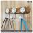 【 EASYCAN  】659-1 茶花陶瓷掛勾 易利裝生活五金 客廳 餐廳 房間 臥房 衣櫃 小資族 辦公家具 系統家具 1