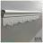 【 EASYCAN  】C108 40cm五連勾 易利裝生活五金 鋁合金掛勾 廚房 餐廳 房間 浴室 小資族 辦公家具 系統家具 0
