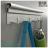 【 EASYCAN  】C109 30cm四連勾 易利裝生活五金 鋁合金掛勾 廚房 餐廳 房間 浴室 小資族 辦公家具 系統家具 1