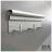 【 EASYCAN  】C111 20cm三連勾 易利裝生活五金 鋁合金掛勾 廚房 餐廳 房間 浴室 小資族 辦公家具 系統家具 0