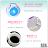 【 EASYCAN  】EC005 吹風機架 易利裝生活五金 浴室 房間 臥房 衣櫃 小資族 辦公家具 系統家具 1