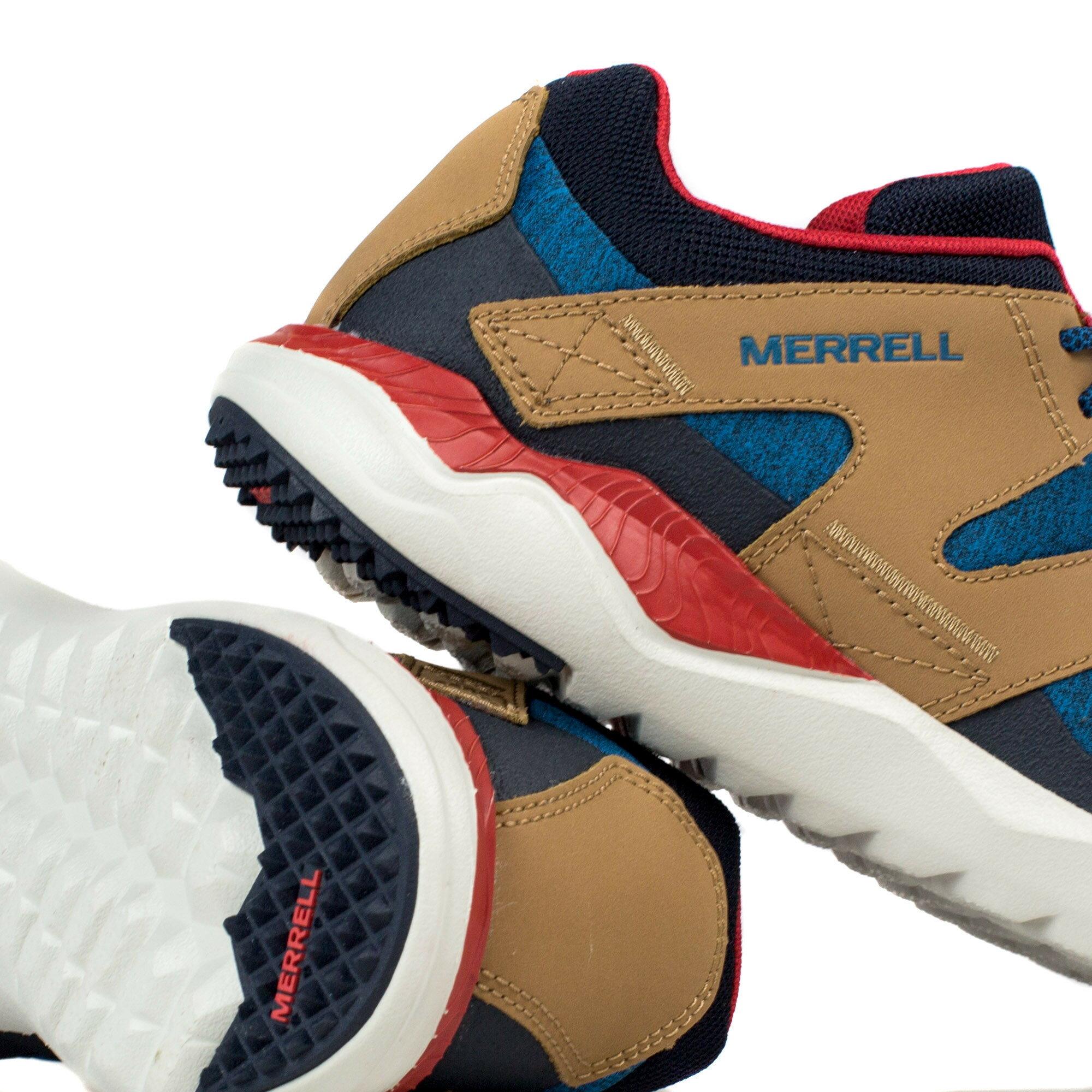 MERRELL 1SIX8 LACE 男 休閒鞋 藍咖啡 健行鞋│休閒鞋│運動鞋 5