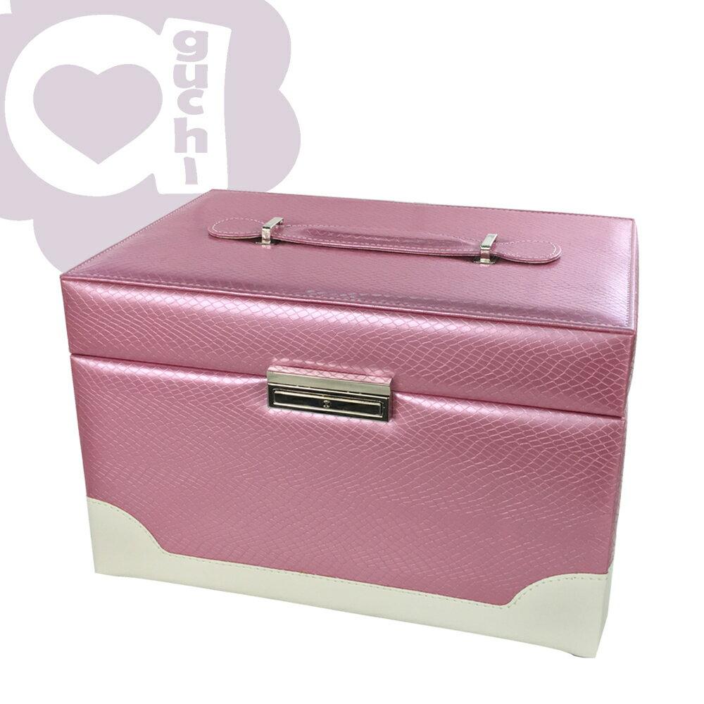 【亞古奇 Aguchi】繆斯女神-香檳粉 珠寶盒(浪漫女伶系列) - 手工精品時尚設計珠寶盒/戒盒/耳環盒 0