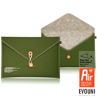 "EVOUNI-E11-2GN 纖 信封式護套 Air 11"" 橄欖綠 Macbook Air"