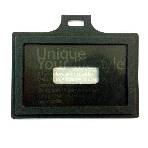 EVOUNI C22-1BK 繽-造型橫式證件套 黑色