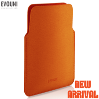 EVOUNI-V36-1OG 立 奈米複合皮套 iPhone5/5S/5C 橘M號