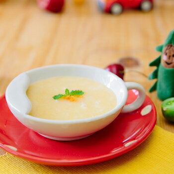 嬰兒副食品-昊寶食堂-7個月以上寶寶-蕃茄地瓜蔬菜米泥(八倍白米粥泥)