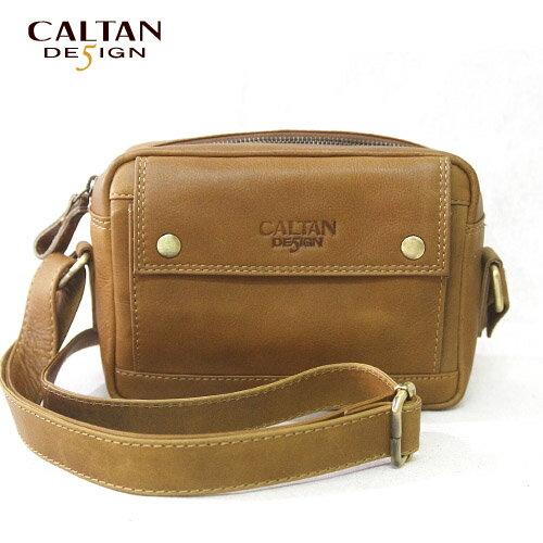 斜背包/相機包【CALTAN】真皮輕巧隨身相機斜背包-5202ht