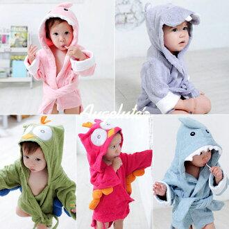 浴巾 寶寶動物造型浴袍 限購2件 26063