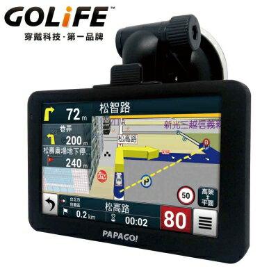 【純米小舖】PAPAGO! GoPad 5C 超值Wi-Fi 5吋導航平板機-國道計程收費試算