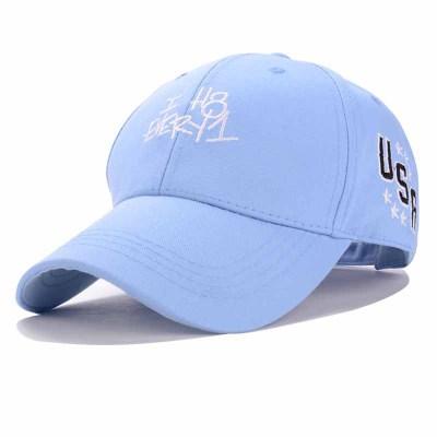 50%OFF【E014287H】韓國原宿字母鴨舌帽ulzzang卡通彎簷棒球遮陽帽男女款潮帽子