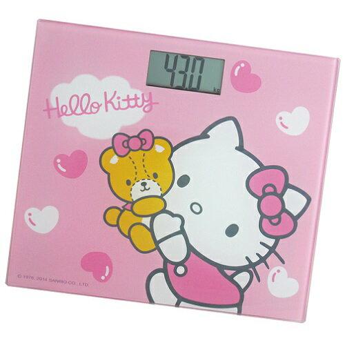 《省您錢購物網》 全新~Hello Kitty 電子體重計 (HW-319P)+贈太陽能計算機*1