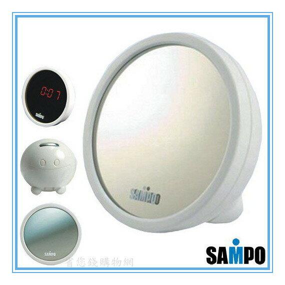 《省您錢購物網》近全新福利品~【聲寶 SAMPO】液晶時光鏡 (PY-Z803EL)