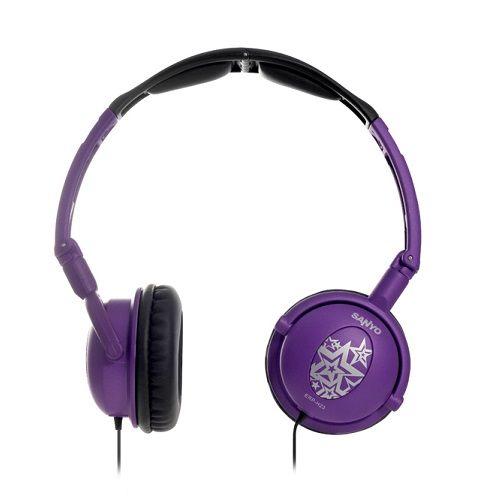 《省您錢購物網》福利品~三洋 立體聲頭戴式折疊耳機 (ERP-H23)