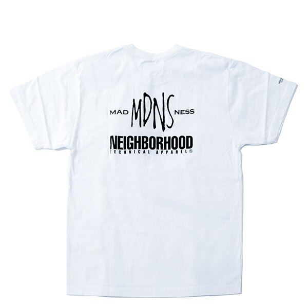 【EST】Madness × Neighborhood 兩週年 聯名 骷髏 短tee 白 [MD-0002-001] G0728 1