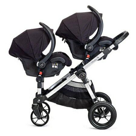 美國【Baby Jogger】City Select 四輪嬰兒推車 (黑管紅) 3