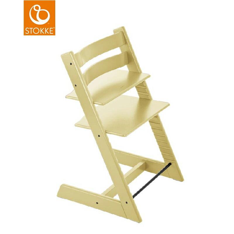 【限量3台】挪威【Stokke】Tripp Trapp 成長椅(麥黃) 0