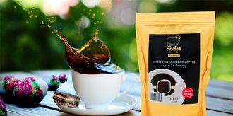 DOMBA COFFEE巴里島小綿羊掛耳式公豆咖啡單包裝 (每包10入)