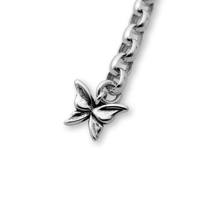 【海外訂購】【KONRON】愛心花園寶石純銀手鍊 18cm (KRB0644-Cz  032035B7Q8) 4