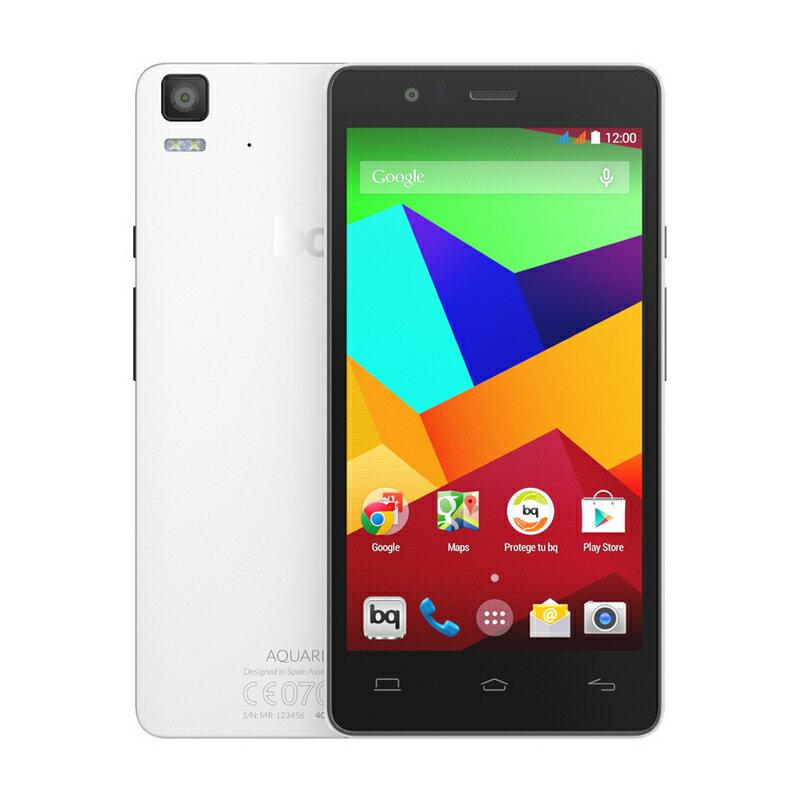 BQ AQUARIS E5 4G 8GB NEGRO/BLANCO - SMARTPHONE LIBRE 0