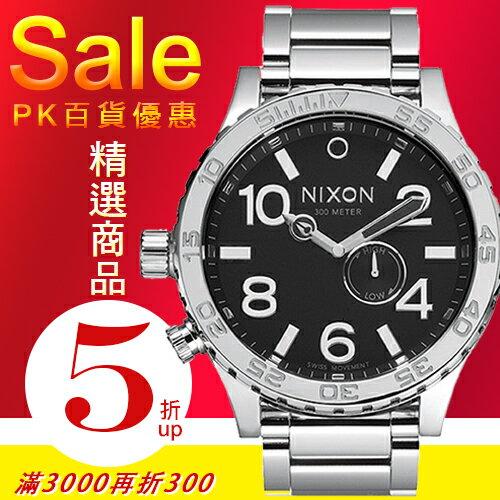 NIXON實體店The 51-30 Tide極限運動潮汐腕錶 High Polish / Black A057-487公司貨/潛水/禮物