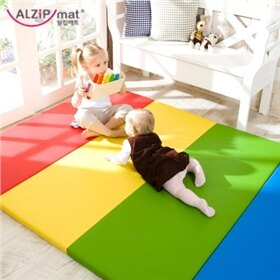 韓國【Alzipmat】繽紛遊戲墊-淘氣色系 (UG)(280x160x4cm) 1
