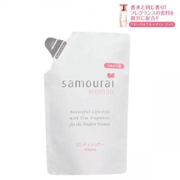 日本Samourai 白玫瑰洗髮精補充包 400ml