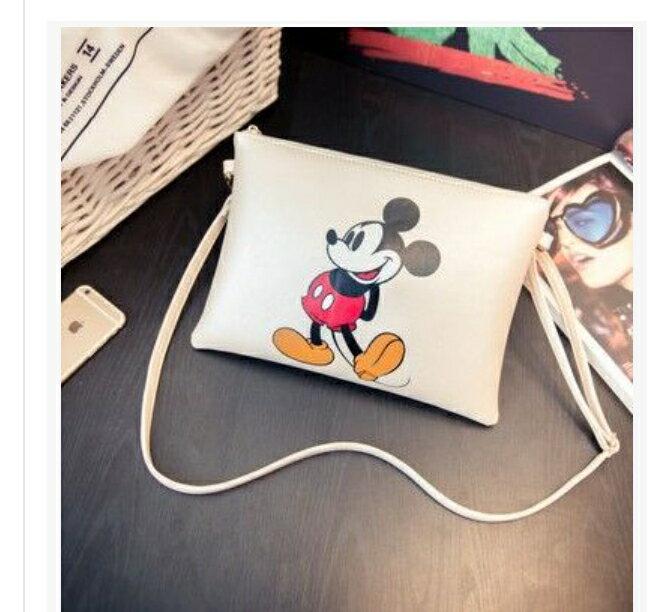 斜背包 -俏皮多款可愛鼠圖案輕巧斜背信封包-11款【21512A】藍色巴黎-現貨+預購 4
